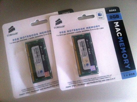 Corsair RAM 8 GB